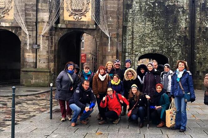 Profesorice Gimnazije Metković, Ana Dragović i Antonela Dragobratović sudjeluju na prvoj aktivnosti učenja, poučavanja i osposobljavanja za nastavnike u sklopu Erasmus+ projekta