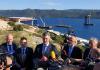 Predsjednik Vlade RH Andrej Plenković obišao gradilište Pelješkog mosta