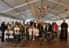 Zbog bure V. Biciklijada u čast oca Ante Gabrića nije vožena, sudionici su se počastili  i slikali