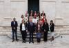 Župan Dobroslavić sa zamjenicom Marević i pročelnicom Dadić primio prvakinje Hrvatske, košarkašice ŽKK Ragusa Dubrovnik