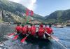 Poslije 4 dana plova i prijeđenih 280 kilometara naši lađari stigli u Kotor